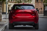 Picture of a 2018 Mazda CX-5 Grand Touring AWD in Soul Red Crystal Metallic from a rear perspective