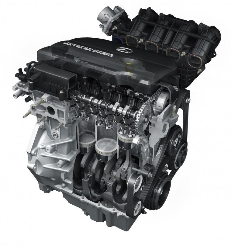 2010 Mazda 3s Sedan 2 5-liter 4-cylinder Engine
