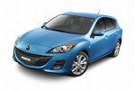 2010 Mazda 3s Hatchback in Celestial Blue Mica - Static Front Left Three-quarter View