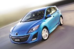 2010 Mazda 3s Hatchback in Celestial Blue Mica - Driving Front Left Three-quarter View