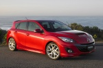 2011 Mazdaspeed3 in Velocity Red Mica - Static Front Right Three-quarter View