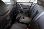 Picture of 2012 Mazda 3i Sedan Front Seats in Black
