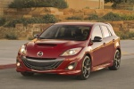 2013 Mazdaspeed3 Hatchback in Velocity Red Mica - Static Front Left View