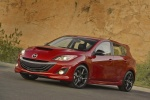 2013 Mazdaspeed3 Hatchback in Velocity Red Mica - Static Front Left Three-quarter View