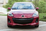 2013 Mazda 3i Sedan in Velocity Red Mica - Static Frontal View