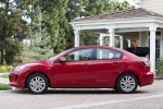2013 Mazda 3i Sedan in Velocity Red Mica - Static Side View