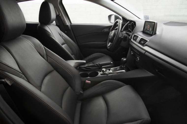 2014 Mazda Mazda3 Hatchback Front Seats Picture
