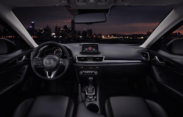 2014 Mazda Mazda3 Hatchback Cockpit Picture