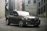 2014 Mazda Mazda3 Hatchback in Meteor Gray Mica - Static Front Right View