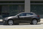 2014 Mazda Mazda3 Hatchback in Meteor Gray Mica - Static Side View