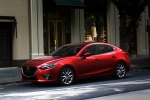 2014 Mazda Mazda3 Sedan in Soul Red Metallic - Static Front Left Three-quarter View
