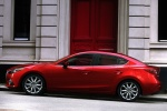 2014 Mazda Mazda3 Sedan in Soul Red Metallic - Static Side View