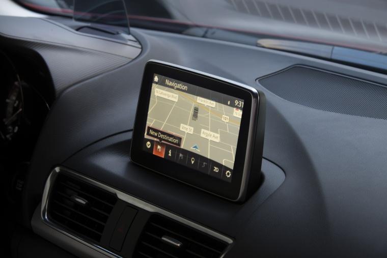 2015 Mazda Mazda3 Hatchback Navigation Screen Picture