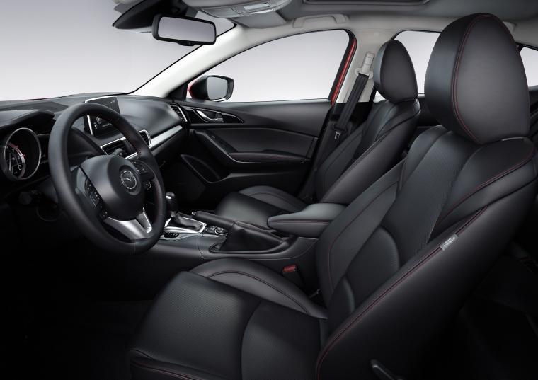 2015 Mazda Mazda3 Hatchback Front Seats Picture