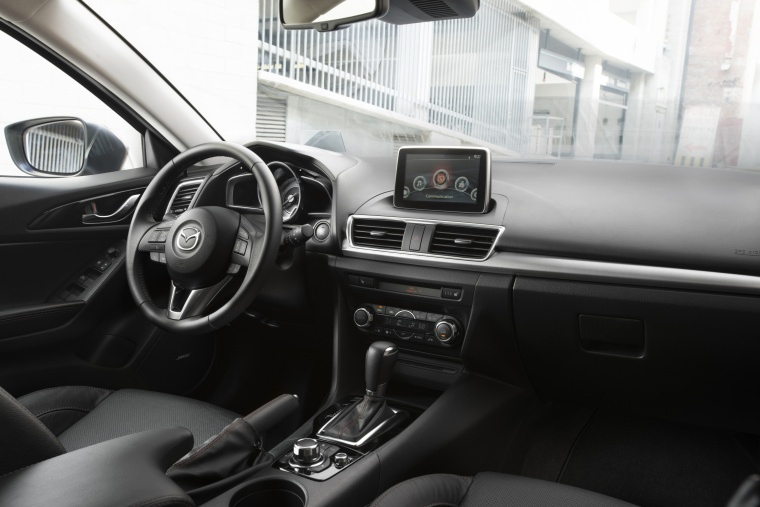 2016 Mazda Mazda3 Hatchback Cockpit Picture