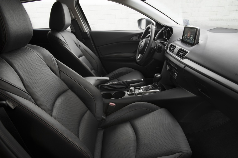 2016 Mazda Mazda3 Hatchback Front Seats Picture
