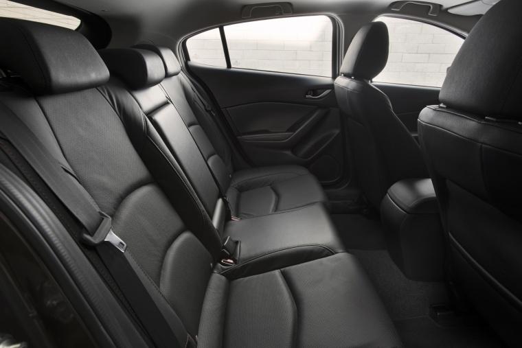 2016 Mazda Mazda3 Hatchback Rear Seats Picture
