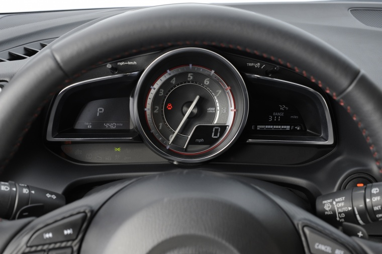 2016 Mazda Mazda3 Hatchback Gauges Picture