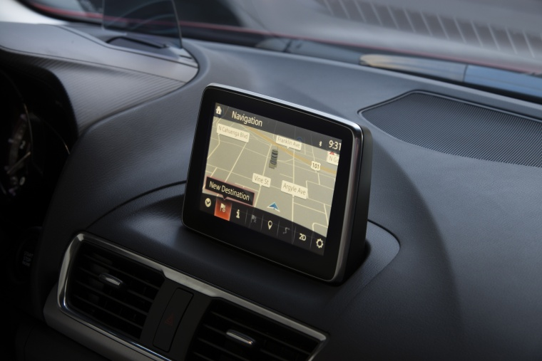 2016 Mazda Mazda3 Hatchback Navigation Screen Picture