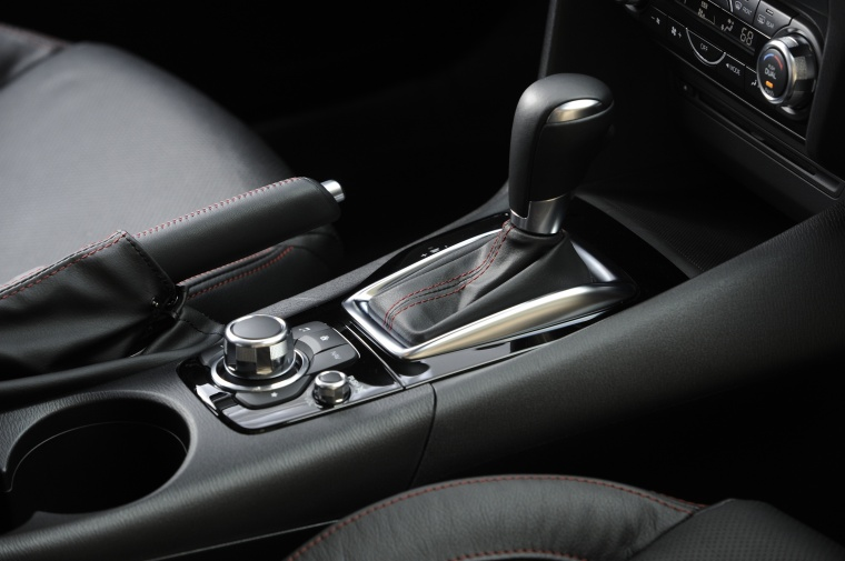 2016 Mazda Mazda3 Hatchback Center Console Picture