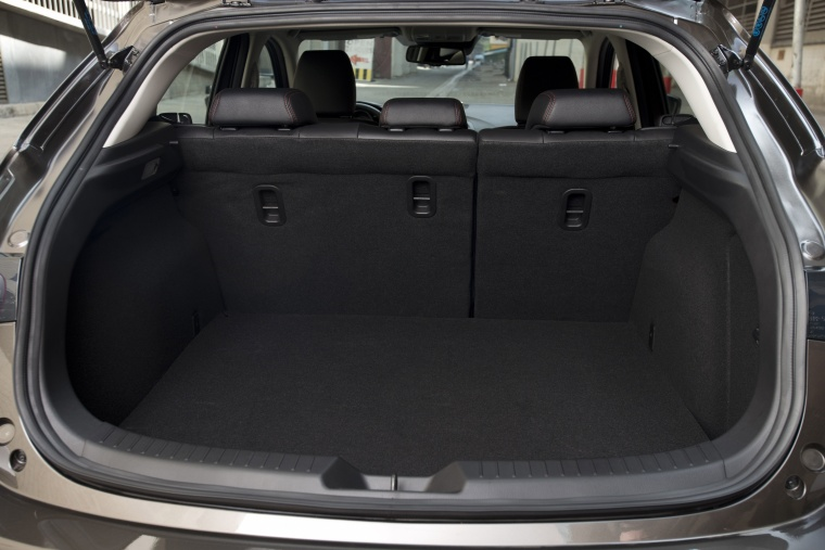 2016 Mazda Mazda3 Hatchback Trunk Picture