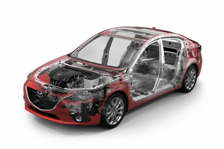 2016 Mazda Mazda3 Hatchback Chassis Picture