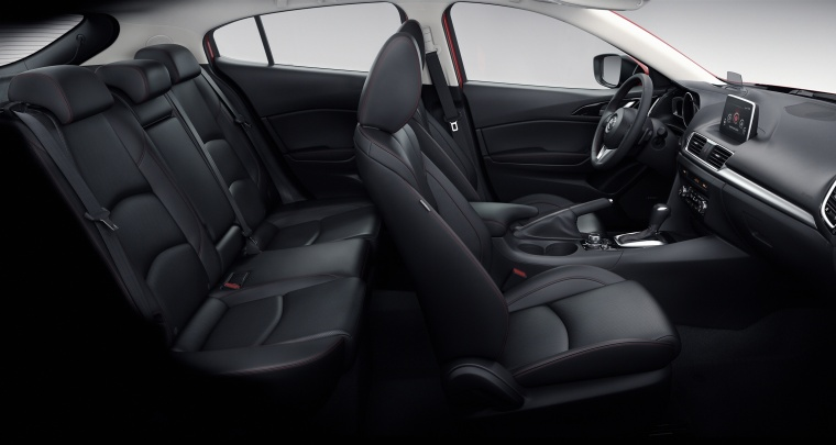 2016 Mazda Mazda3 Hatchback Interior Picture