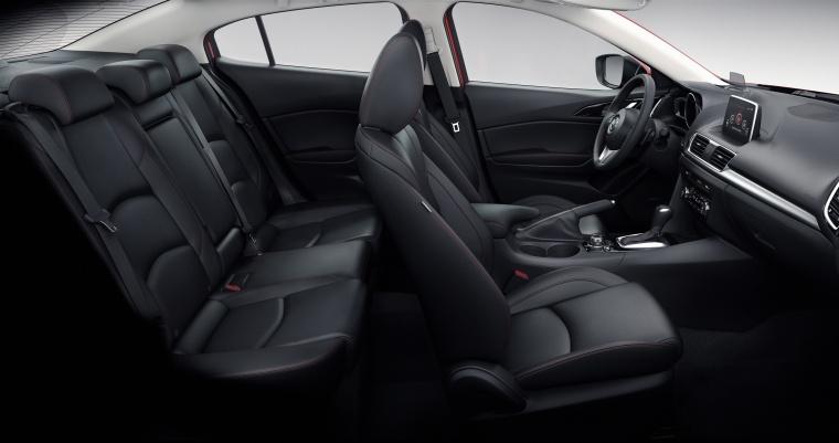 2016 Mazda Mazda3 Sedan Interior Picture