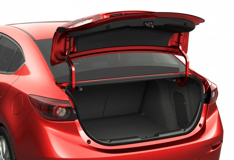 2016 Mazda Mazda3 Sedan Trunk Picture