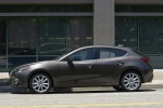 2016 Mazda Mazda3 Hatchback in Meteor Gray Mica - Static Side View