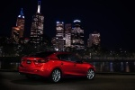 2016 Mazda Mazda3 Sedan in Soul Red Metallic - Static Rear Right Three-quarter View