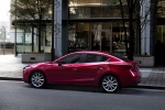 2017 Mazda Mazda3 Grand Touring Sedan in Soul Red Metallic - Static Side View