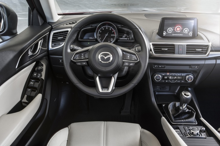 2018 Mazda Mazda3 Grand Touring 5-Door Hatchback Cockpit Picture