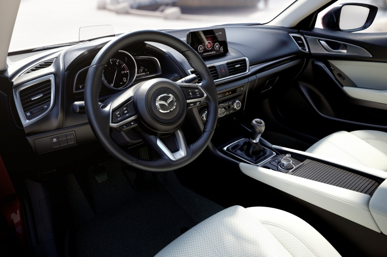 2018 Mazda Mazda3 Grand Touring 5-Door Hatchback Interior