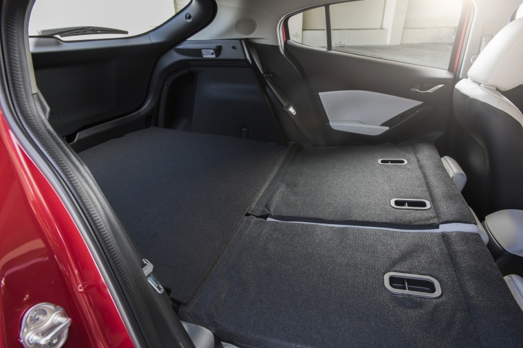 2018 Mazda Mazda3 Grand Touring 5-Door Hatchback Rear Seats Folded Picture