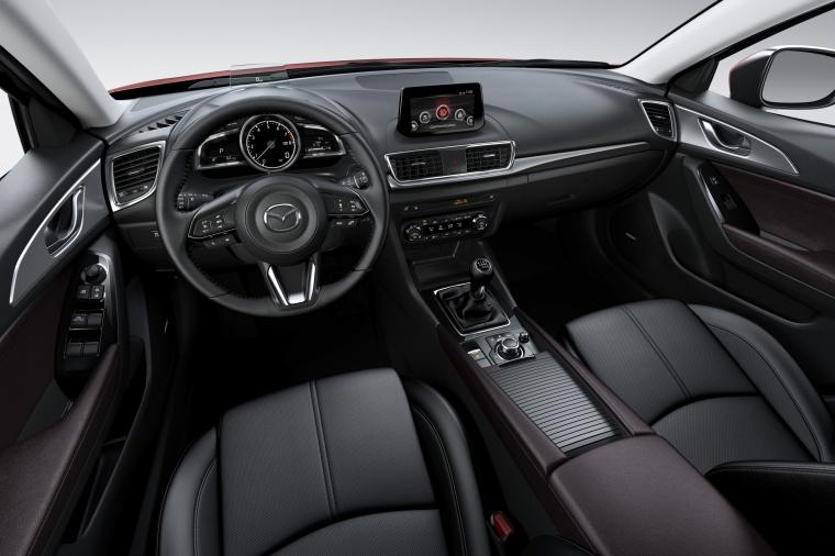 2018 Mazda Mazda3 Grand Touring Sedan Cockpit Picture