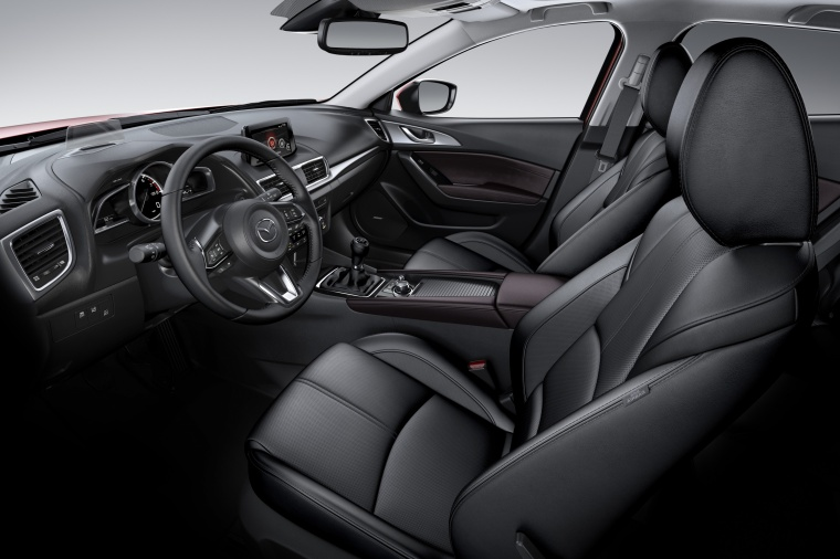 2018 Mazda Mazda3 Grand Touring Sedan Front Seats Picture