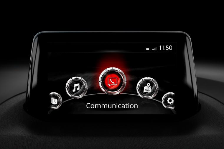 2018 Mazda Mazda3 Grand Touring Sedan Dashboard Screen Picture