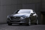2018 Mazda Mazda3 Grand Touring 5-Door Hatchback in Machine Gray Metallic - Static Front Left View