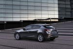 2018 Mazda Mazda3 Grand Touring 5-Door Hatchback in Machine Gray Metallic - Static Rear Left Three-quarter View