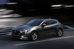 2018 Mazda Mazda3 Grand Touring 5-Door Hatchback in Machine Gray Metallic - Driving Front Left Three-quarter View
