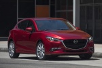 2018 Mazda Mazda3 Grand Touring 5-Door Hatchback in Soul Red Metallic - Static Front Right View