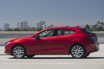 2018 Mazda Mazda3 Grand Touring 5-Door Hatchback in Soul Red Metallic - Static Side View