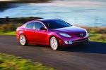2010 Mazda 6s in Sangria Red Mica - Driving Front Right Three-quarter View