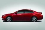 2010 Mazda 6s in Sangria Red Mica - Static Side View