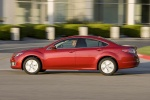 2010 Mazda 6s in Sangria Red Mica - Driving Left Side View