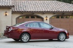 2013 Mazda 6i in Fireglow Red - Static Right Side View
