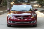 2013 Mazda 6i in Fireglow Red - Static Frontal View