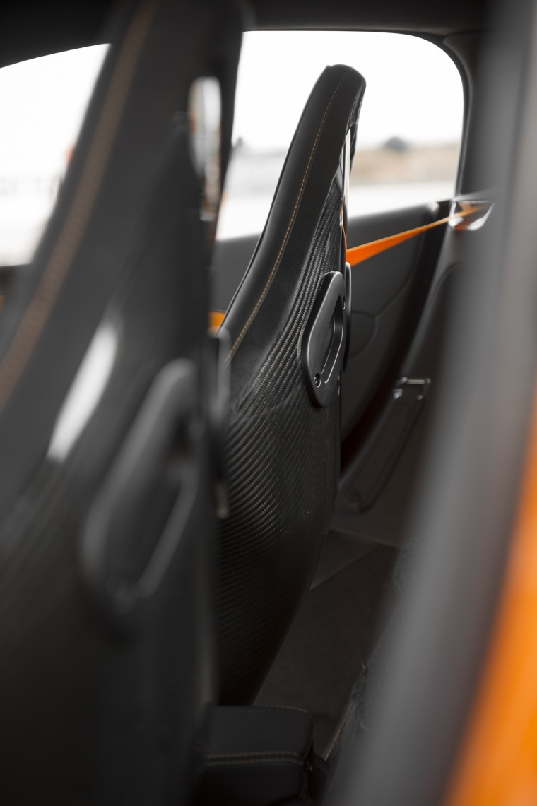 2016 McLaren 570S Coupe Interior Picture