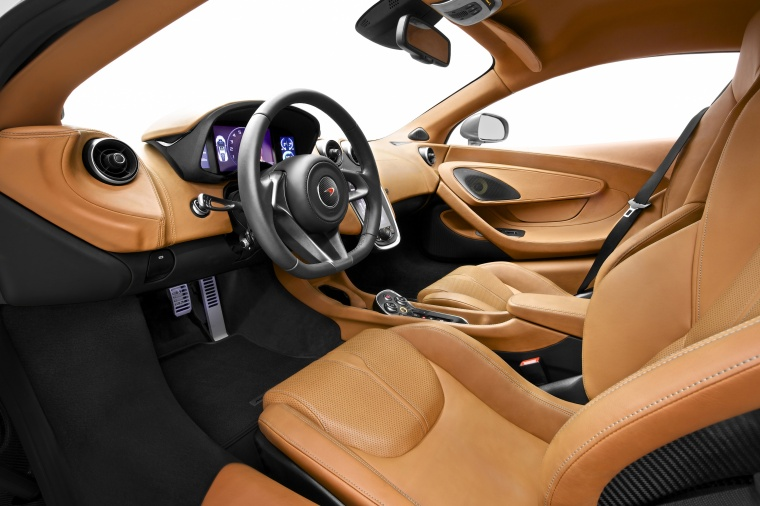 2016 McLaren 570S Coupe Interior Picture
